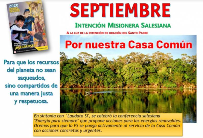 Intención misionera septiembre