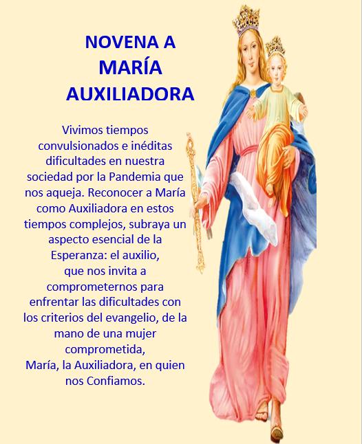 Novena María Auxiliadora P. Natales