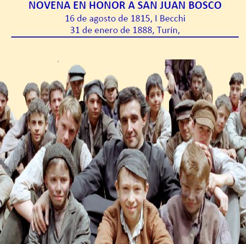 Novena San Juan Bosco